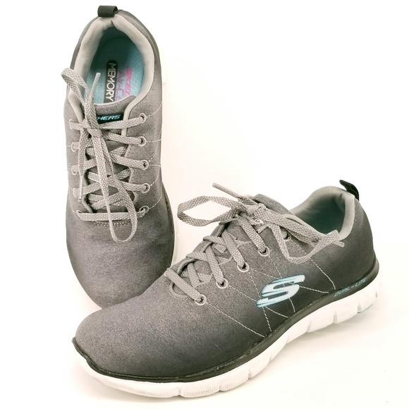 Skechers Running Shoes Flex Appeal 2.0 Sz 7.5 EJ56